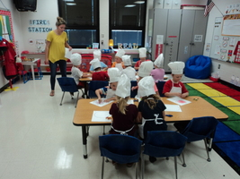 Miss Lortcher's Class Learns About Shapes