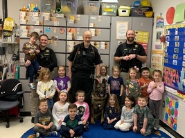 Justice Visits AM Preschool
