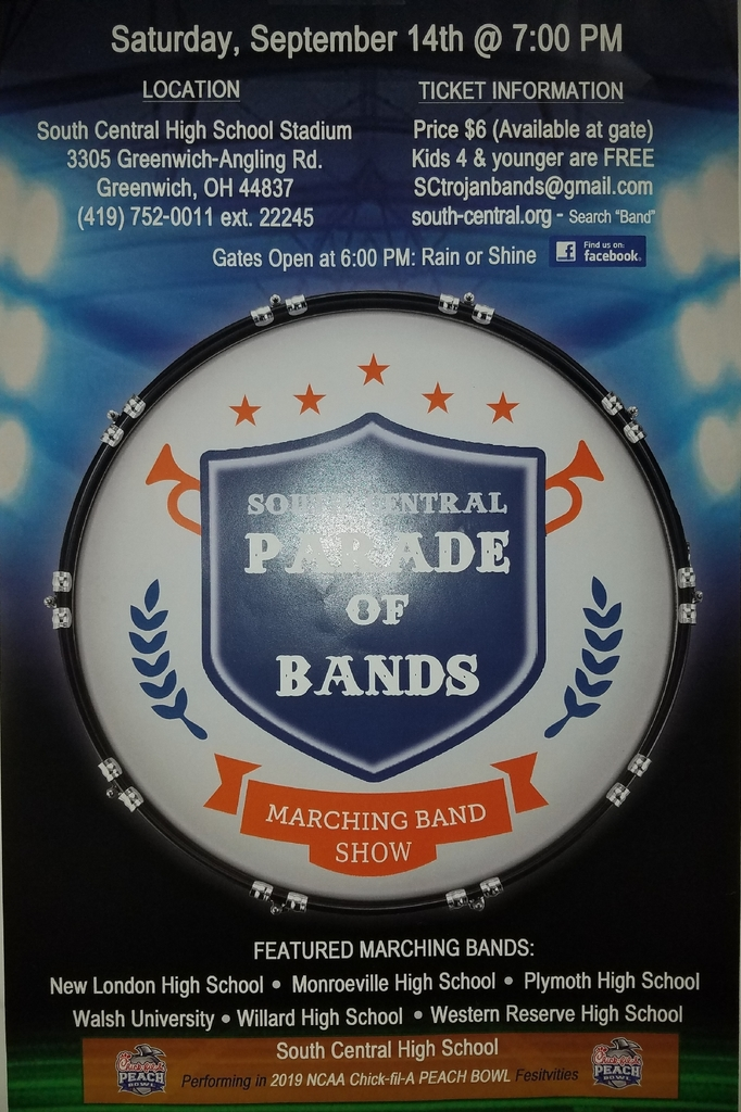 2019 S.C. Parade of Bands